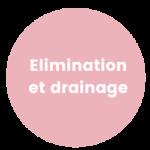 Elimination et drainage